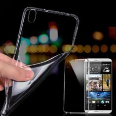 Husa HTC Desire 816 TPU Ultra Thin 0.3mm Transparenta - Husa Telefon HTC, Gel TPU, Fara snur, Carcasa