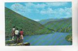 bnk cp Lacul de acumulare al uzinei hidroelectrice Sadu V - Vedere - circulata