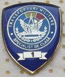 Insigna militara, specialist cls.1,transporturi militare