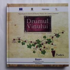 Drumul vinului - Istoric, vinuri autohtone, obiective turistice / C41P - Carte Monografie