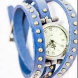 Ceas Dame Vintage Antic Tip Bratara Elegant Piele Naturala CALITATE 5 Culori - Ceas dama, Quartz, Otel, Analog