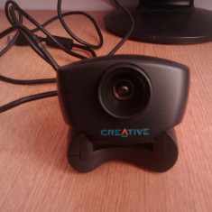 WEBCAM CREATIVE VIDEO BLASTER WEBCAM 3 MODEL CT6840 FUNCTIONALA, Pana in 1.3 Mpx, CMOS