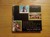 PORTUL POPULAR DIN REGIUNEA MARAMURES * Zonele Oas, Maramures, Lapus  -- Tancred  Banateanu -- album , 167 p.