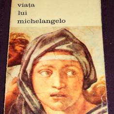 Viata lui Michelangelo - biografie de Romain Rolland, colectia Biblioteca de Arta 1971