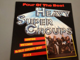HEAVY SUPER GROUPS - selectii cu : SCORPIONS,VIXEN,WHITESNAKE,Mc SCHENKER GROUP.(1988/EMI REC)- DISC VINIL/PICK-UP/VINYL - made RFG, emi records