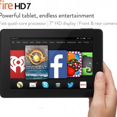 Kindle Fire HD 7 WiFi 8GB (Tableta Amazon), Noua, Quad-Core 1.5 GHz, 1 GB RAM - Tableta Kindle Fire HD