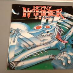 HEAVY HAMMER HITS - selectii cu :FOREIGNER, DOKKEN, ALICE COOPER, TRIUMPH, DREAM THEATER etc.(1990/WARNER REC)- DISC VINIL/PICK-UP/VINYL - made RFG - Muzica Rock