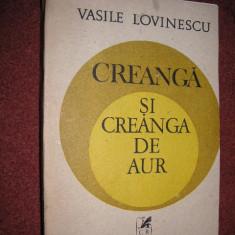 Creanga si creanga de aur - Vasile Lovinescu - Eseu