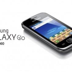 Samsung Galaxy Gio GT S5660 NOU - Telefon mobil Samsung Galaxy Gio, Negru, Telekom