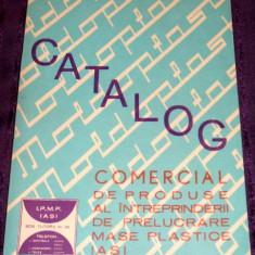Catalog 1971 - Produse ale Intreprinderii de Mase Plastice, IPMP Iasi, industria de prelucrare a maselor plastice in RSR