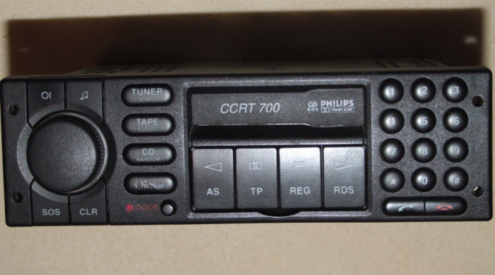 radio casetofon cu telefon philips ccrt 700 original. Black Bedroom Furniture Sets. Home Design Ideas