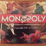 Joc Monopoly Spiderman in Limba Romana - Jocuri Logica si inteligenta, 8-10 ani, Unisex