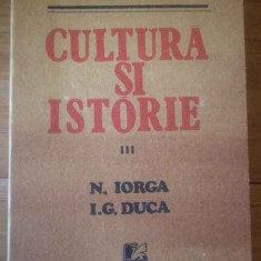 Cultura Si Istorie Iii N. Iorga, I.g. Duca - Valeriu Rapeanu, 309514 - Biografie