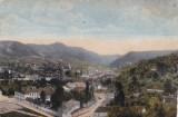 CARTE POSTALA BRASOV Panorama din Brasov                   Necirculata, Printata