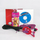 MP3 player pentru copii - Disney Mix Stick 2.0 - Hannah Montana roz, 2GB