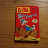 MICKEY PARADE  --  Walt  Disney  -- 1987, mensuel No.85, 224 p.; text in limba franceza