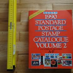 Catalog timbre-Scott-Volum 2-Toate tarile din lume de la A la F - Format mare A4