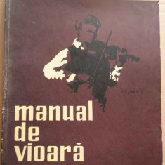 Manual De Vioara Vol.2 - Ionel Geanta George Manoliu ,273534