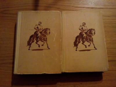 STEFAN RAZIN  - St. Zlobin  -  roman istoric  2  vol. 1954, 552+480 p. foto