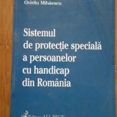 Sistemul De Protectie Speciala A Persoanelor Cu Handicap Din - Constantin Stoenescu, 296067 - Carte Jurisprudenta