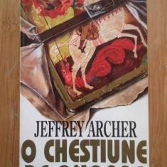 O Chestiune De Onoare - Jeffrey Archer, 296702 - Roman, Rao, Anul publicarii: 1994