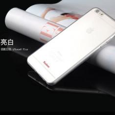 Husa iPhone 6 Plus 6S Plus TPU 0.3mm Transparenta + Folie Yoobao Originala - Husa Telefon Yoobao, Gel TPU, Fara snur, Carcasa