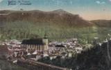 CARTE POSTALA BRASOV Vedere din Brasov                  Circulata, Printata