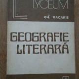 Geografie Literara - Gh. Macarie, 280525 - Biografie