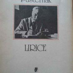 Lirice - Boris Pasternak, 293878 - Carte poezie