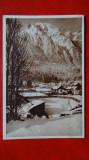 Carte postala - Busteni - Peisaj de iarna
