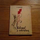 SLALOMUL SI COBORIREA -- V. E. Nacornii -- 1951, 127 p. ; tiraj: 3100 ex. - Carte sport