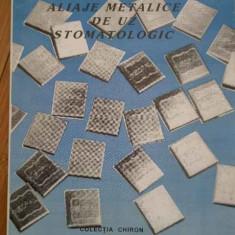 Aliaje Metalice De Uz Stomatologic - Stefan Panaite ,295505