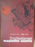 Proiectarea Masinilor-unelte - Al. Vaida S. Velicu ,519436