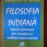 Filosofia Indiana Izbavire Sufleteasca Prin Cunoastere Si Med - Constantin Marin ,303292