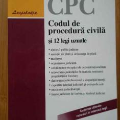 Codul De Procedura Civila Si 12 Legi Uzuale - Colectiv, 283938 - Carte Jurisprudenta