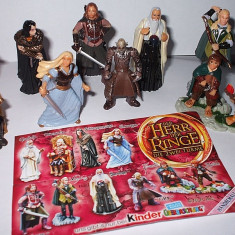 SURPRIZE KINDER - LORD OF THE RINGS 2 - SERIE COMPLETA - Surpriza Kinder