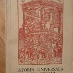 Istoria Universala A Teatrului Evul Mediu Renasterea Vol 1-2 - Ion Zamfirescu, 308515 - Carte Cinematografie