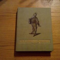 M. E. SALTACOV - SCEDRIN - coperta si ilustratii de EUGEN TARU - 1954, 286 p. - Carte veche