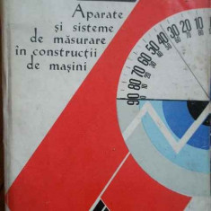 Aparate Si Sisteme De Masurare In Constructii De Masini - C. Micu P. Dodoc Gh. Diaconescu A.m. Manolescu, 278731 - Carti Mecanica