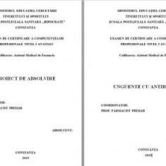 LUCRARE DE LICENTA AMF UNGUENTE CU ANTIBIOTICE - Carte Dermatologie si venerologie