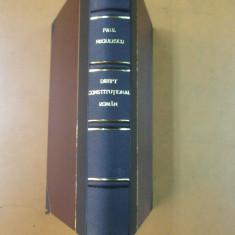 Paul Negulescu Curs de drept constitutional roman Bucuresti 1927 - Carte Drept constitutional