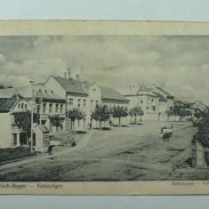 REGHIN - ZONA CENTRALA - STAMPILA DE CENZURA WW1 - Carte Postala Transilvania 1904-1918