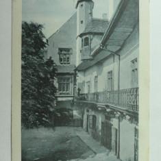 SIBIU - HERMANNSTADT - NAGYSZEBEN - CURTEA PRIMARIEI - VAROSHAZUDVAR, Necirculata, Fotografie