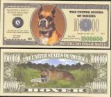 !!! SUA = FANTASY NOTE = BOXER - 2006 - UNC  /  SERIA  CAINI , WOOF
