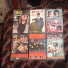 Casete Audio (Zorile, Generic, Genius, 3rei Sud-Est, Star Commando 3)
