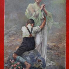 Vedere-Galerie Munchner Meister - Gemalde Karte - Paul Wagner-Berhfee - Pictura, Circulata