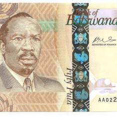 BOTSWANA 50 PULA 2009 UNC - bancnota africa