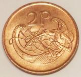 G5. IRLANDA 2 PENCE 1995  XF / AUNC **, Europa