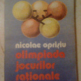 H3 Olimpiada jocurilor rationale - Nicolae Oprisiu - Carte Matematica