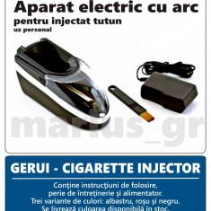 GERUI - Aparat electric / injector pentru injectat tutun in tuburi de tigari - Aparat rulat tigari